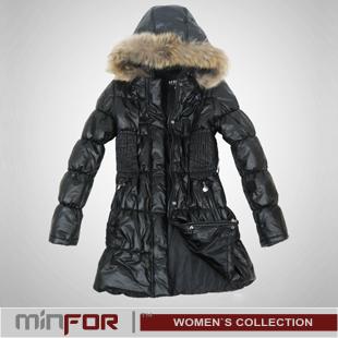 Зимние женские длинные куртки. . Материал: верх - п/э, утеплитель - синтепух. черный
